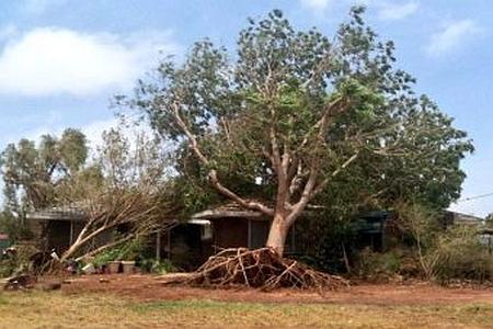 Australia - Silny cyklon