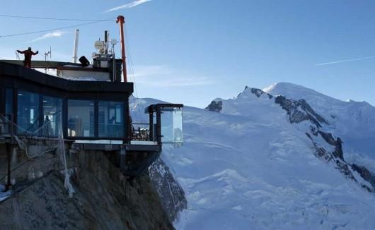 Francja - Szklana kabina z widokiem na Mont Blanc 4