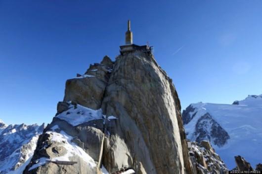 Francja - Szklana kabina z widokiem na Mont Blanc 5