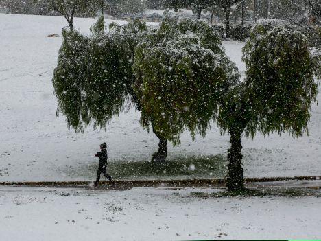 Jerozolima - Śnieg 2