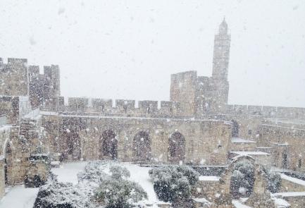 Jerozolima - Śnieg 4