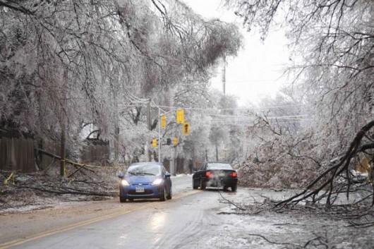 Kanada, Toronto - Śnieg3