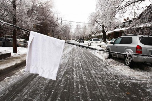 Kanada, Toronto - Śnieg4
