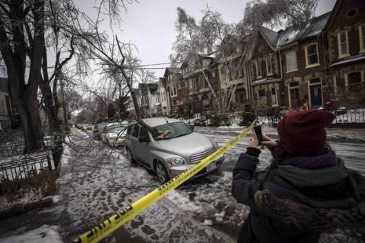 Kanada, Toronto - Śnieg6