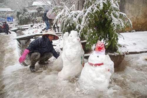 Wietnam - Śnieg