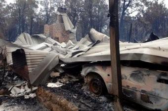 Australia - Pożary lasów na przedmieściach Perth 5