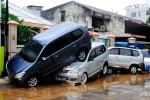 Indonezja - Ulewy i powódź w Manado 2
