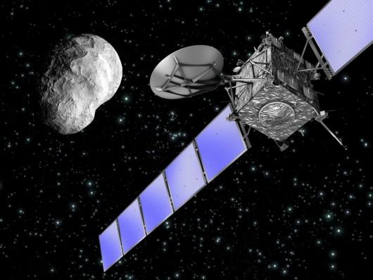 Sonda Rosetta i asteroida Astero VUE02