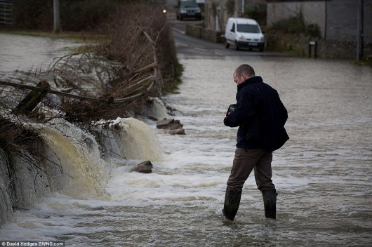 UK - Powodzie