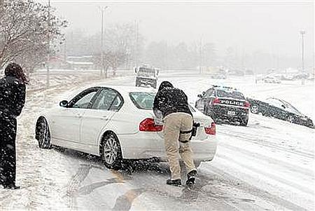 USA - Artak zimy w Atlancie 3