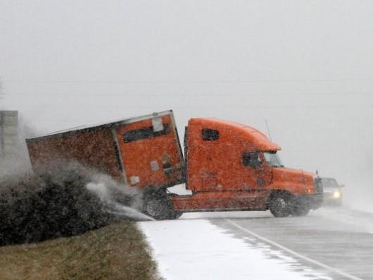 USA - Artak zimy w Atlancie