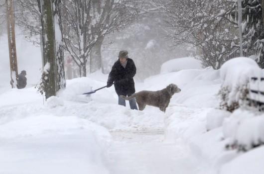 USA - Duże opady śniegu w krótkim czasie - Chicago 3