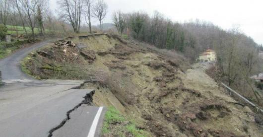Włochy - Osuwiska ziemi 7