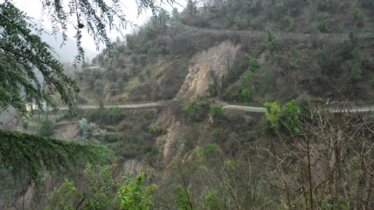 Włochy - Osuwiska ziemi 8