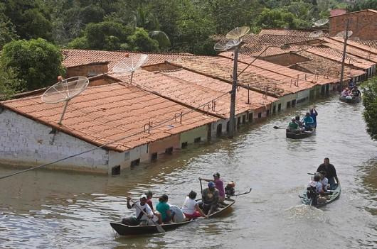 Brazylia - Ogromna powódź 1