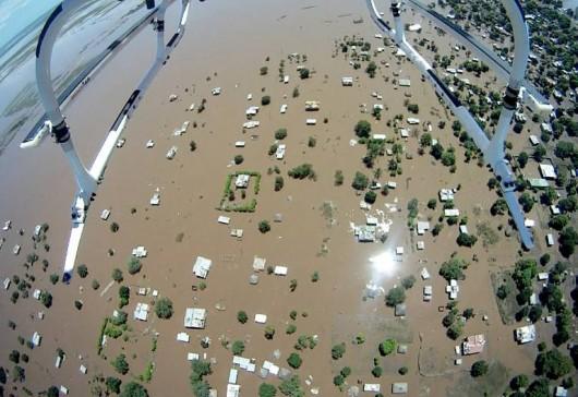 Brazylia - Ogromna powódź 2