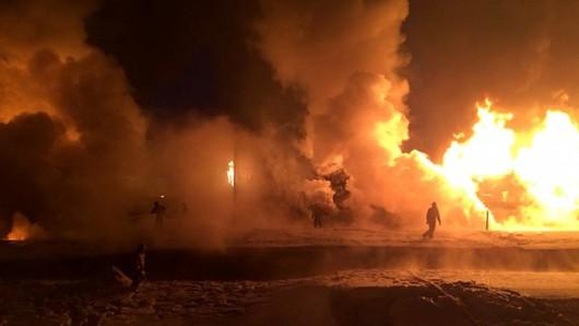 Цистерны с конденсатом сжиженного газа сошли с рельс в Кировской области