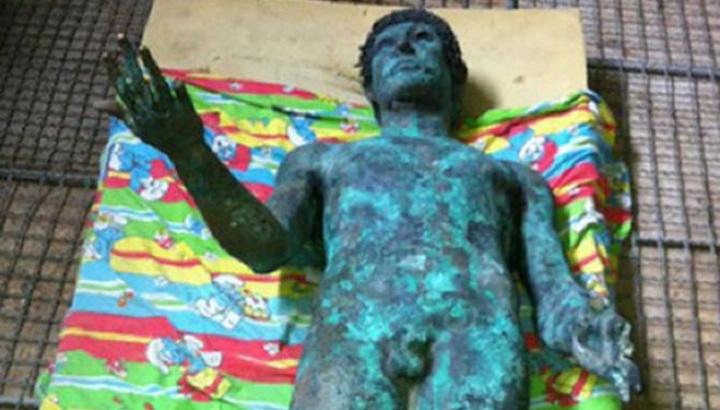Strefa Gazy Picture: Rzeźba Apolla