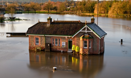 Bristol's Cumberland Basin Floods