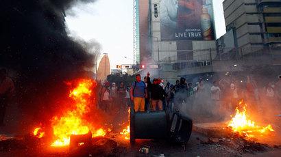 Wenezuela - Demonstracje antyrządowe 3