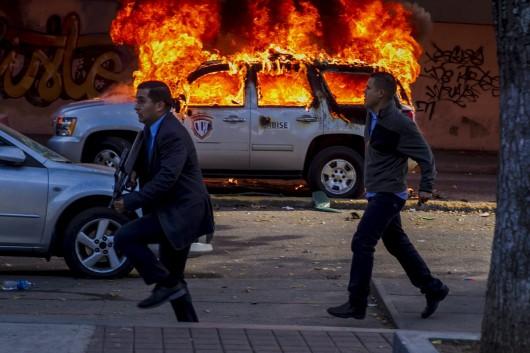 Wenezuela - Demonstracje antyrządowe 4