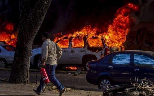 Wenezuela - Demonstracje antyrządowe