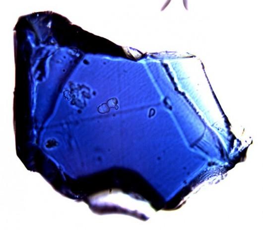 Ringwoodyt uzyskany w laboratorium