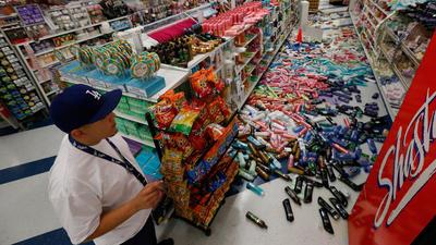 USA - Silne wstrząsy sejsmiczne w Los Angeles 2