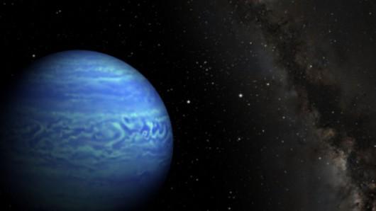Artystyczna wizja WISE J085510.83-071.442.5