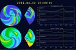 Burza geomagnetyczna 2014.04.02