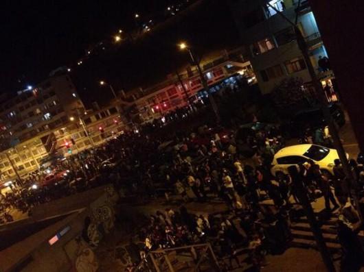 Chile, Iquique, trzęsienie ziemi 1