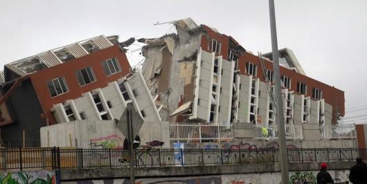 Chile - Trzęsienie ziemi 1