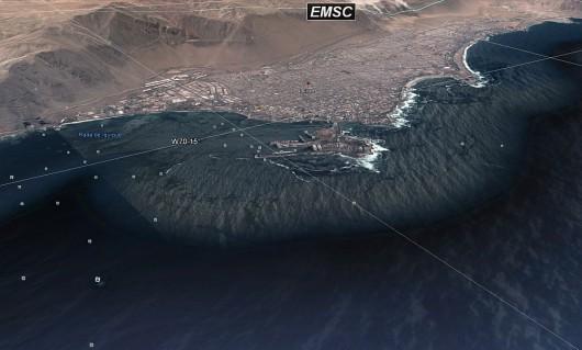 Chile - Trzęsienie ziemi 8.0 2