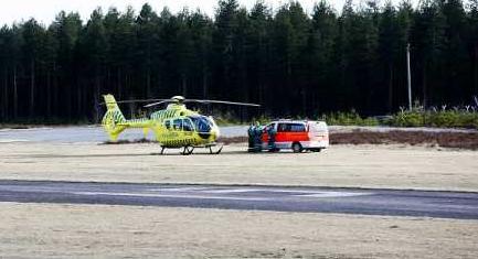 Finlandia - Helikopter i pogotowie, które wzięły udział w akcji - Finlandia Times, Lehtikuva