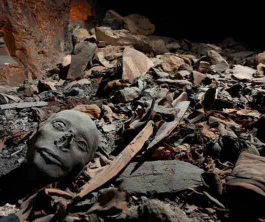 Grobowiec w Dolinie Królów - Egipt