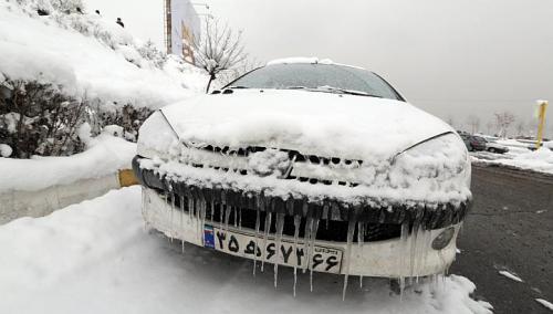 Iran - Załamanie pogody, śnieg 1