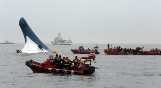Korea Południowa - Zatonął prom z 477 osobami na pokładzie 1