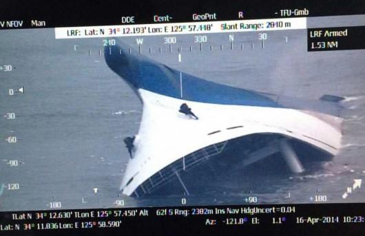 Korea Południowa - Zatonął prom z 477 osobami na pokładzie 2