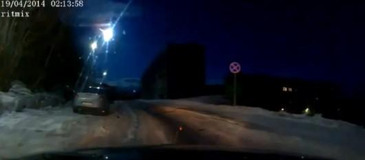 Rosja - Meteor nad Syberią