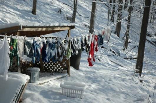 Saranac Lake, USA - Gwałtowna zmiana temperatury 2