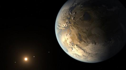 Tak może wyglądać planeta Kepler-186f