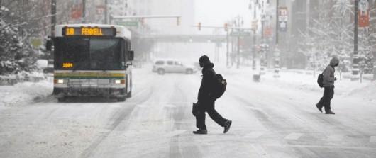 USA - Śnieg w Detroit 3