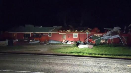 """It was crashing hard"" -- Texas storm victim"