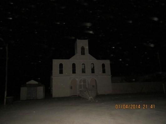 WIeża kościoła w Huara - Chile