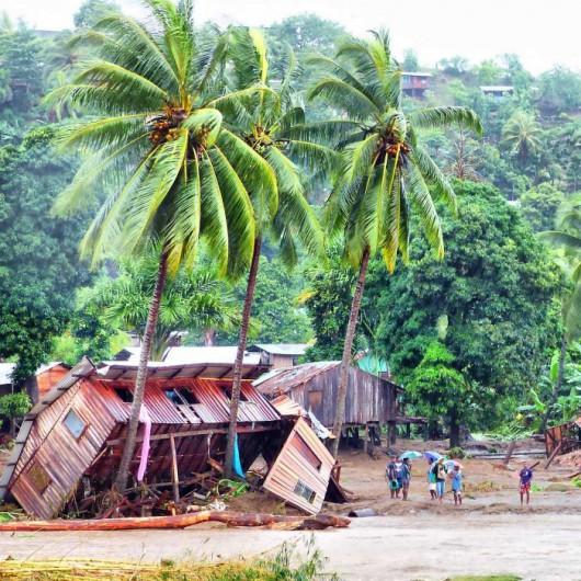 Wyspy Salomona - Powódź 2