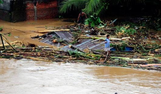 Wyspy Salomona - Powódź 3