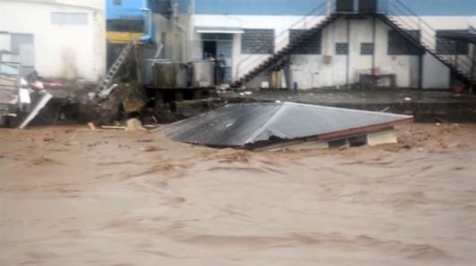 Wyspy Salomona - Powódź 4