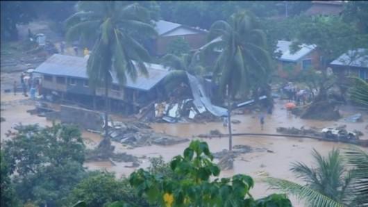 Wyspy Salomona - Powódź 5