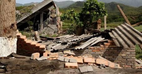Chiny - Trzęsienie ziemi w poblizu Pingyuan 3