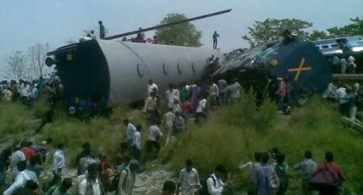 Indie - Zderzenie pociągów 1